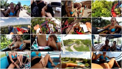 Public Park Sexy Lesbians (2014)