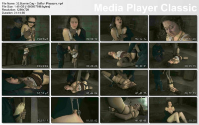 Bonnie Day - Selfish Pleasure - HD 720p - online, dom, whip, stud