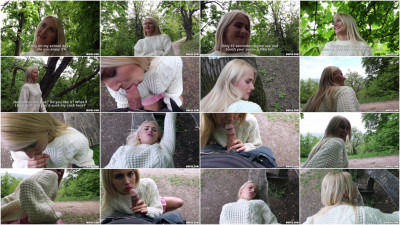 Aisha — Blonde Hottie Fucks Outdoors 720p