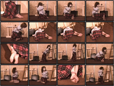bdsm Bound and Gagged - The Money Pit Scene 1 - Lorelei is menaced by Whitney Prescott