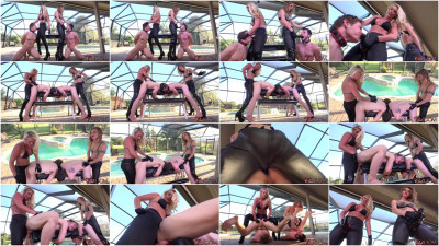 Cherry Morgan & Alina StrapOn Fuck (25 Mar 2015) Club Dom