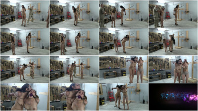 bdsm Two-girl Bondage Predicament Part 1