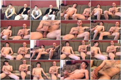 Pat and Sam - Up for grabs Scene #2 - Dominic Schools Young Trent Stone With Masturbating 1 On 1