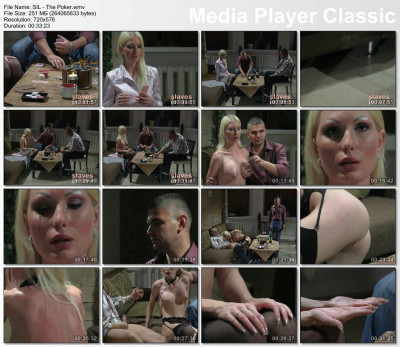 Sexy Russian blonde in BDSM