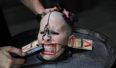 Hard BDSM Head Games