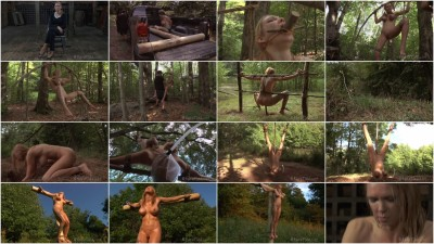 bdsm Fear The Woodsman A Hardtied feature fantasy presentation staring Rain DeGrey - Rain DeGrey