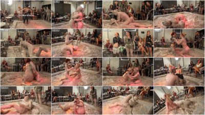 Double Match Mud Wrestling Event
