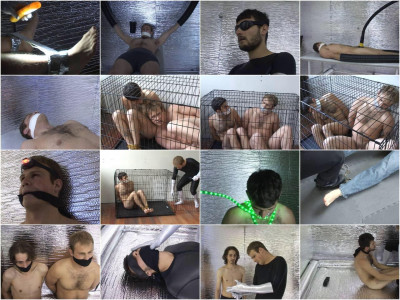 Gay BDSM Rope bondage slave