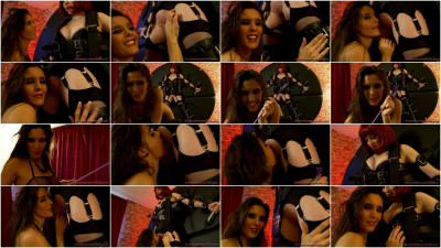 Femdom and Strapon lola scene 2 part 3