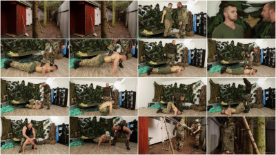 Gay BDSM GWarGames - Matthew and Jerome - Soldier Matthew part 1