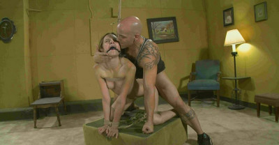 One Happy Slave In Action