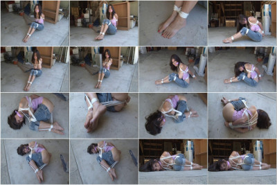 bdsm Ashley Renee Tied in the Garage 2013