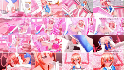 futanari girl Hikari -summer Masturbation- Hikari onanie