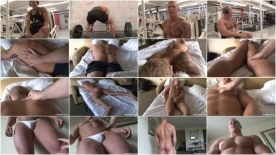 Pumpingmuscle - Ryan R Photoshoot Part 11 (pumping, file, video).