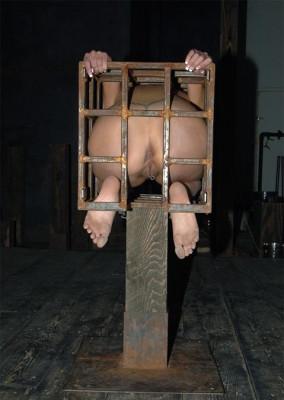 Orgasm In A Cage