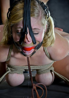 She needs rough bondage and rougher handling