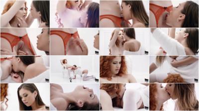 Sabrise and Heidi — are Sensual Lesbians