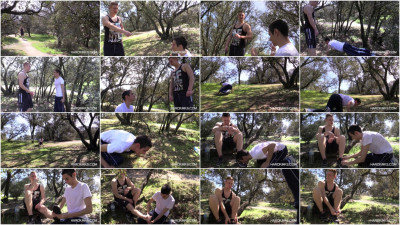 Gay BDSM Hard Kinks - Humiliation Forest (Tyler Roding)