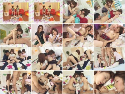 AVGL-012A - Kawaii Special. Yuri Kousaka, Miku Ohashi. Cute girls having fun fucking.
