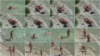 Peeped at the beach 10 - Voyeur, Nudism HD