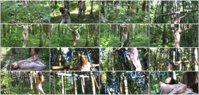 CruxDreams - Crucifixion Mermaid in the Forest