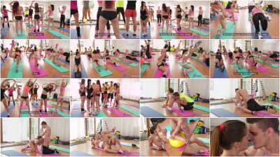 Barbara Bieber — Sweaty Workout After Class FullHD 1080p