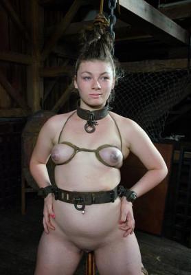 Beautiful, little bondage doll