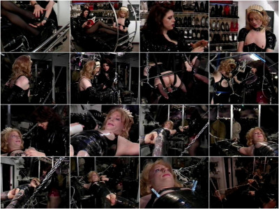 Amanda Wildefyre's Rubber Slaves: Tickled To Tears