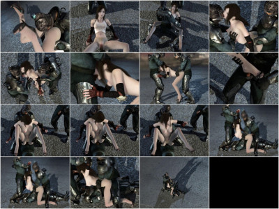 Fluid Fantasy Captured Slave — Hot 3d HD Video