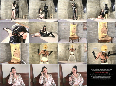 Devonshire - DP-315B - Exotic Latex Bondage & Rubber Encasement 13 - Brandy, Simone Devon