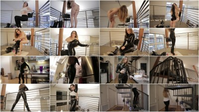 The Unknown Life of Samantha (black latex)