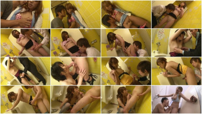 Dedicated Public Toilet Can Get A Beautiful Transsexual With High Probability Standing