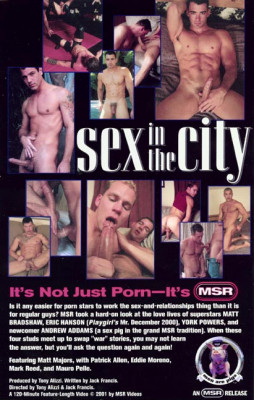 Sex in the City (MSR) Cover Back