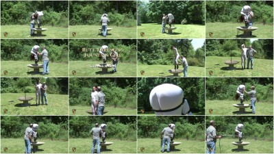 Houseofgord - Butt Thrusting Fountain Girl HD 2015