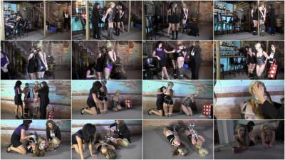 Briella Jaden, Constance, Dixie Comet — Strippers kept tied up
