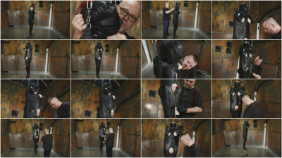 SI — Sandy Skarsgard — Suspended Leather Torment Part 1
