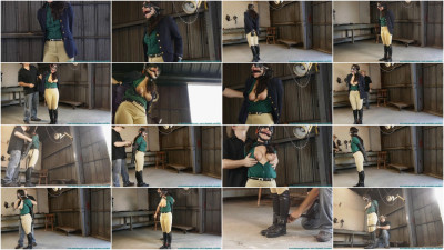 CrotchRope - Ellen Equestrian to PonyGirl - Leather - Part 2