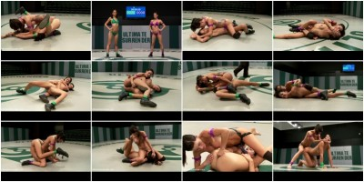 Gia DiMarco (2-1) - VS - Lyla Storm (0-2) - - Brutal Featherweight action! Loser fucked!