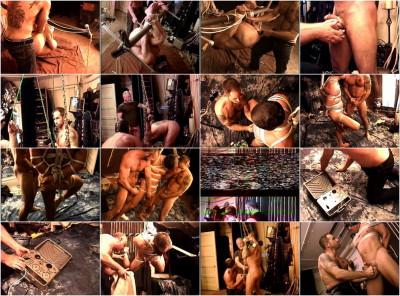 BDSM party with bondage
