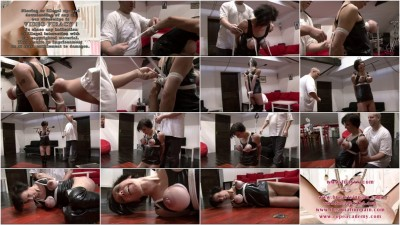 Toaxxx - Breast Suspension Challenge for Slave Eva