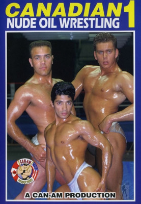 Canadian Nude Oil Wrestling 1 Cover Front