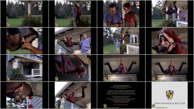 Houseofgord - Red Rope Hogtie - Claire Adams HD 2015