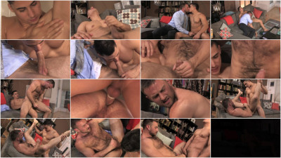 "NakedSword Topher DiMaggio love Heath Jordan in""Golden Gate: Season 3, Episode 2"