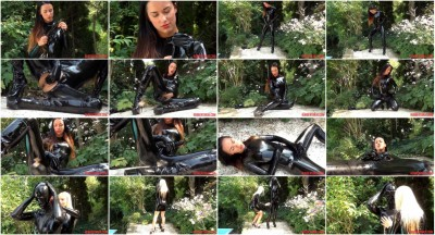 Pervy Rubber Lesbians, Finger, Masking, Strap-On Part One (2014)