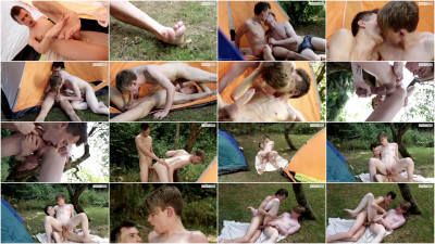 Leo Ocean Has A Dream Cum True On The End Of A Monster Dick! (Camp Out Scene #2)