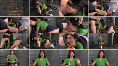 SexuallyBroken - Sep 01, 2014 - English lass Ava Dalush tied