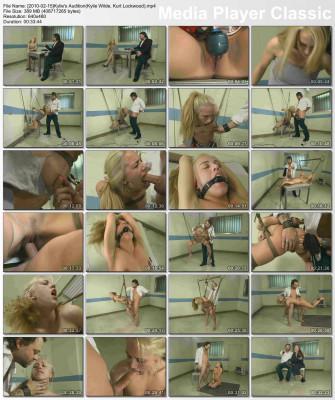 Kylie's BDSM Audition