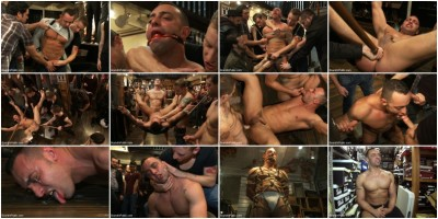 Kink: Bound In Public - Van Darkholme, Christian Wilde, Fabio Stallone - Ripped Muscle, Fat Cock, Round Ass, Humiliated in Public