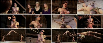 Something you have never seen before! — An Amazing 3 girl scene with brutal bondage and orgasms!
