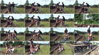 Railway Threesome